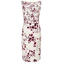 Buy Phase Eight Hana Blossom Dress, Champagne Online at johnlewis.com