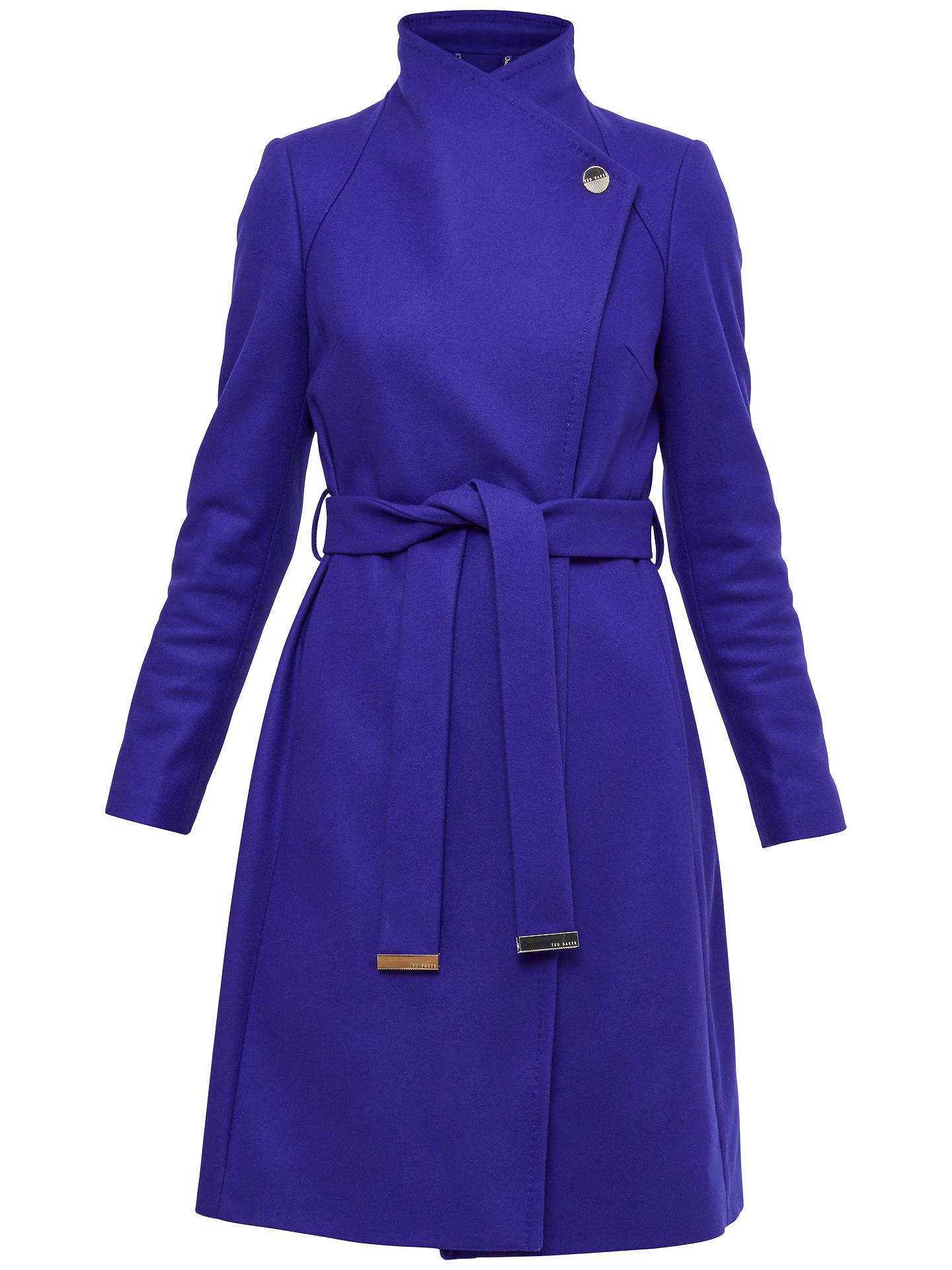 8a8ccbb94a5fef Buy Ted Baker Aurore Long Wrap Collar Coat