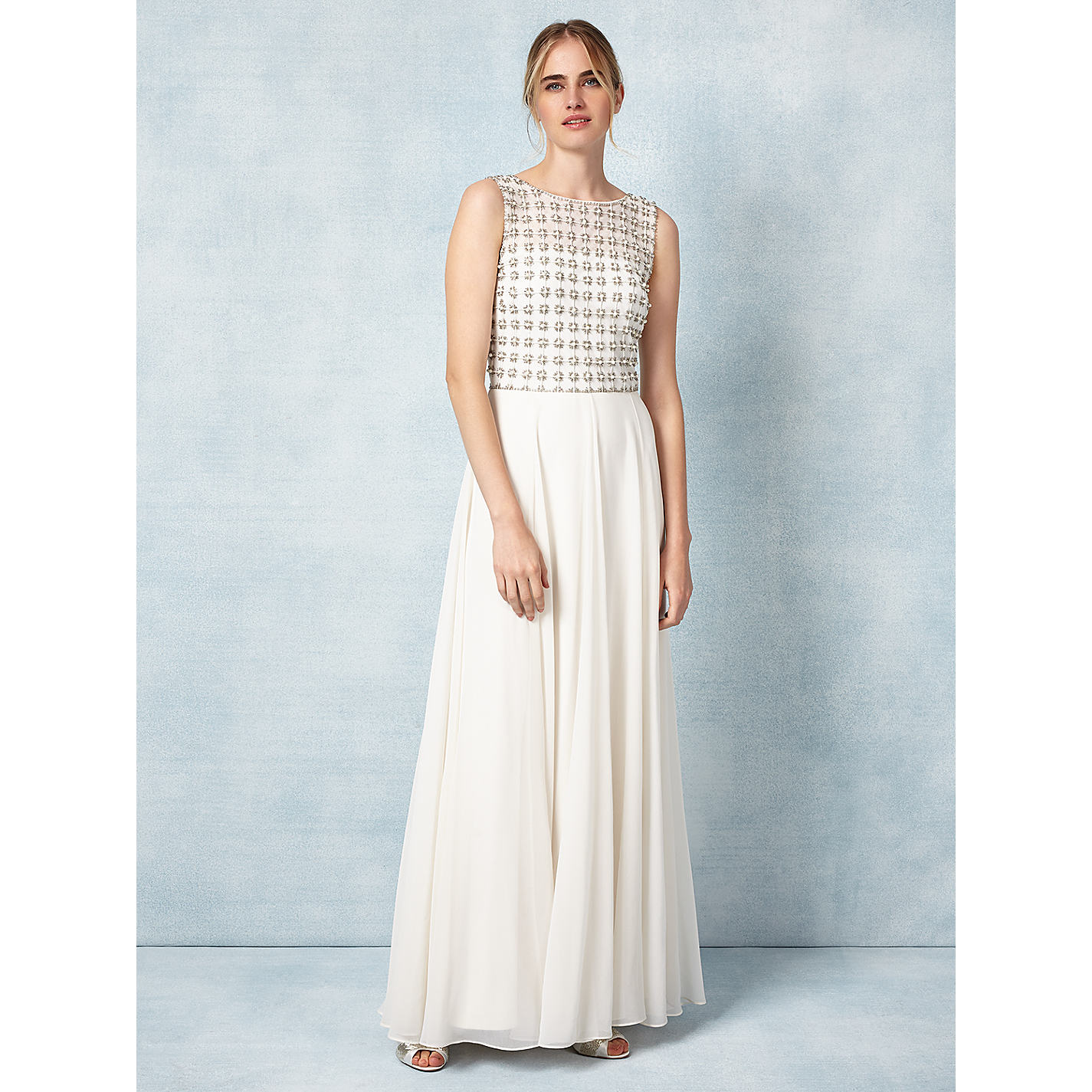 Phase Eight Bridal Caleigh Wedding Dress Cream Online At Johnlewis