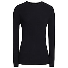 Buy Reiss Duana Ribbed Long Sleeve Jumper Online at johnlewis.com