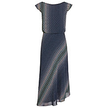 Buy Reiss Felicia Printed Dress, Midnight Online at johnlewis.com