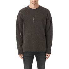 Buy AllSaints Hannet Crew Neck Jumper Online at johnlewis.com