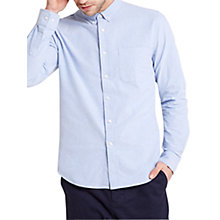 Buy HYMN Sammons Oxford Shirt, Blue Online at johnlewis.com