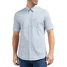 Buy Diesel S-Wop Short Sleeve Print Cotton Shirt Online at johnlewis.com