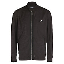 Buy Diesel J-Rum Jacket, Black Online at johnlewis.com