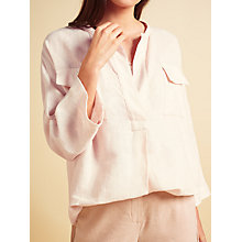 Buy Modern Rarity Pocket Linen Blouse Online at johnlewis.com