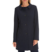 Buy Betty Barclay Crepe Coat, Navy Blue Online at johnlewis.com