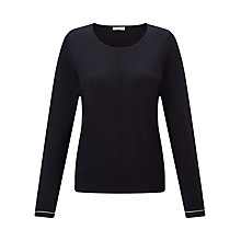 Buy Jigsaw Clean Knit Filament Cuff Jumper Online at johnlewis.com