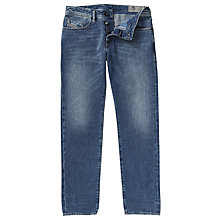Buy Diesel Buster 084EF Tapered Jeans, Mid Blue Online at johnlewis.com