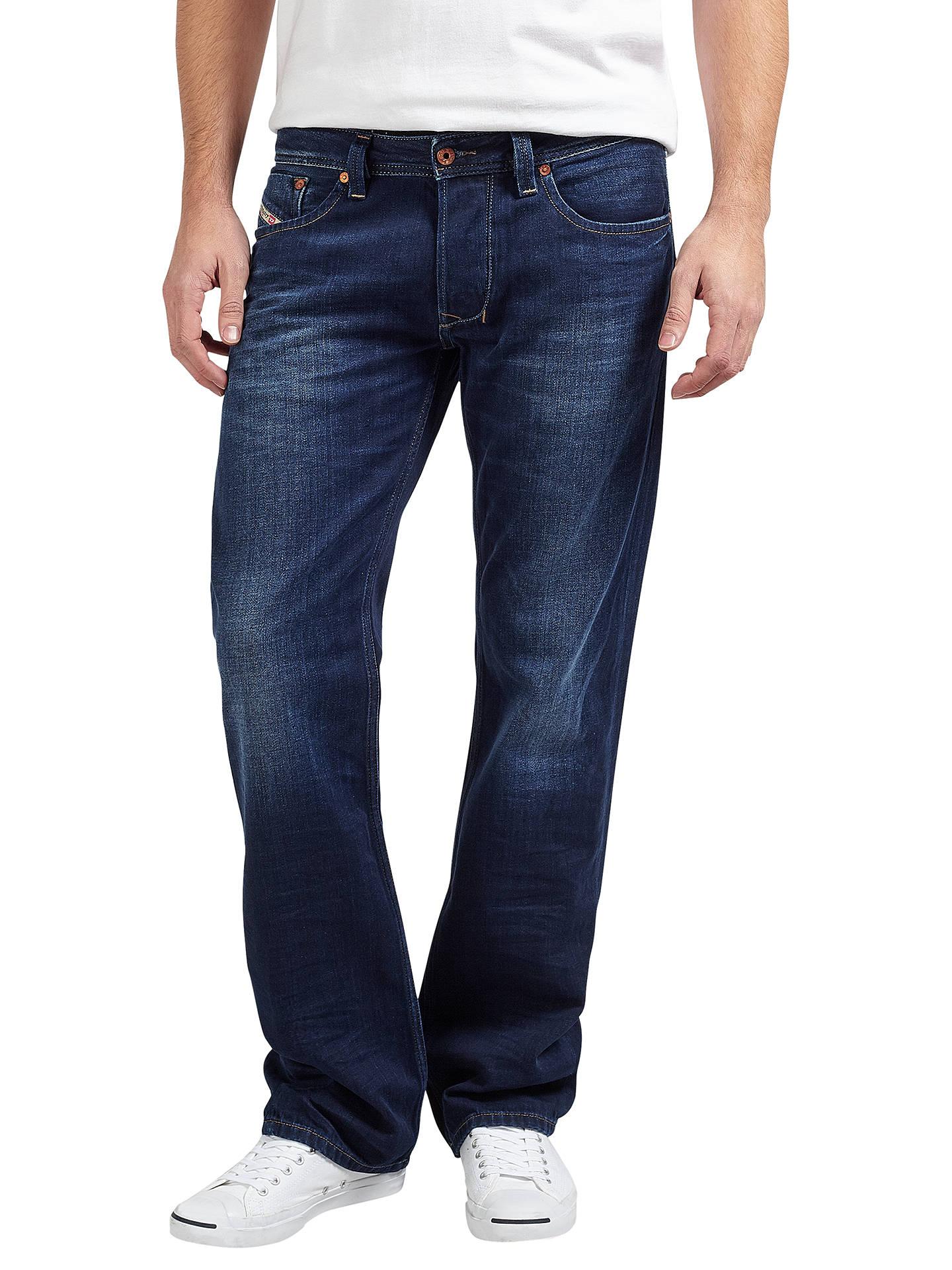 a3909b6f Buy Diesel Larkee Straight Jeans, Dark Wash 0860M, 30S Online at  johnlewis.com ...
