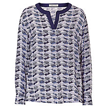 Buy Betty Barclay Graphic Print Blouse, Blue Online at johnlewis.com