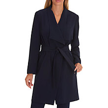 Buy Betty Barclay Unlined Coat, Dark Blue/Blue Online at johnlewis.com