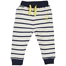 Buy Angel & Rocket Baby Striped Joggers, Navy/Multi Online at johnlewis.com