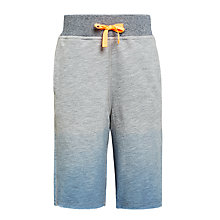 Buy John Lewis Boys' Dip Dye Shorts, Blue Online at johnlewis.com