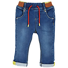 Buy Angel & Rocket Baby Denim Jersey Jeans, Blue Online at johnlewis.com