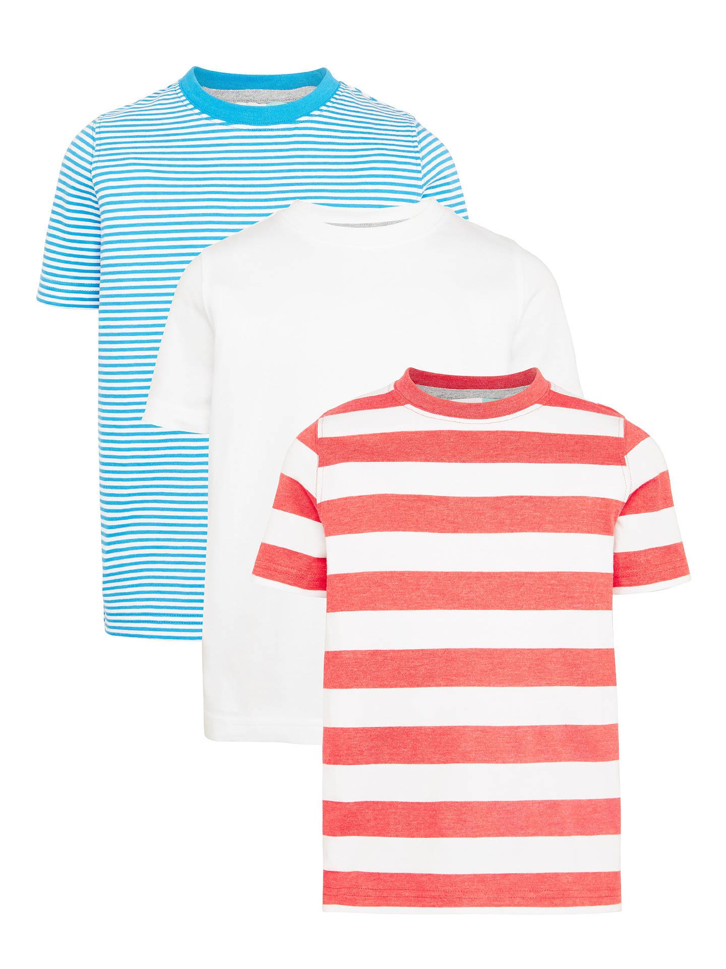 365a0f167a4 Buy John Lewis Boys  Striped T-Shirt