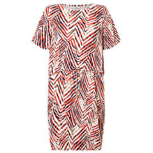 Buy Minimum Janett Printed Dress, Flame Online at johnlewis.com