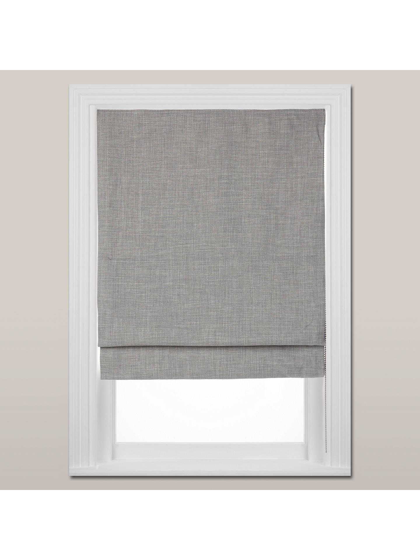 BuyCroft Collection Shawford Blackout Roman Blind, Storm, W60cm Online at johnlewis.com