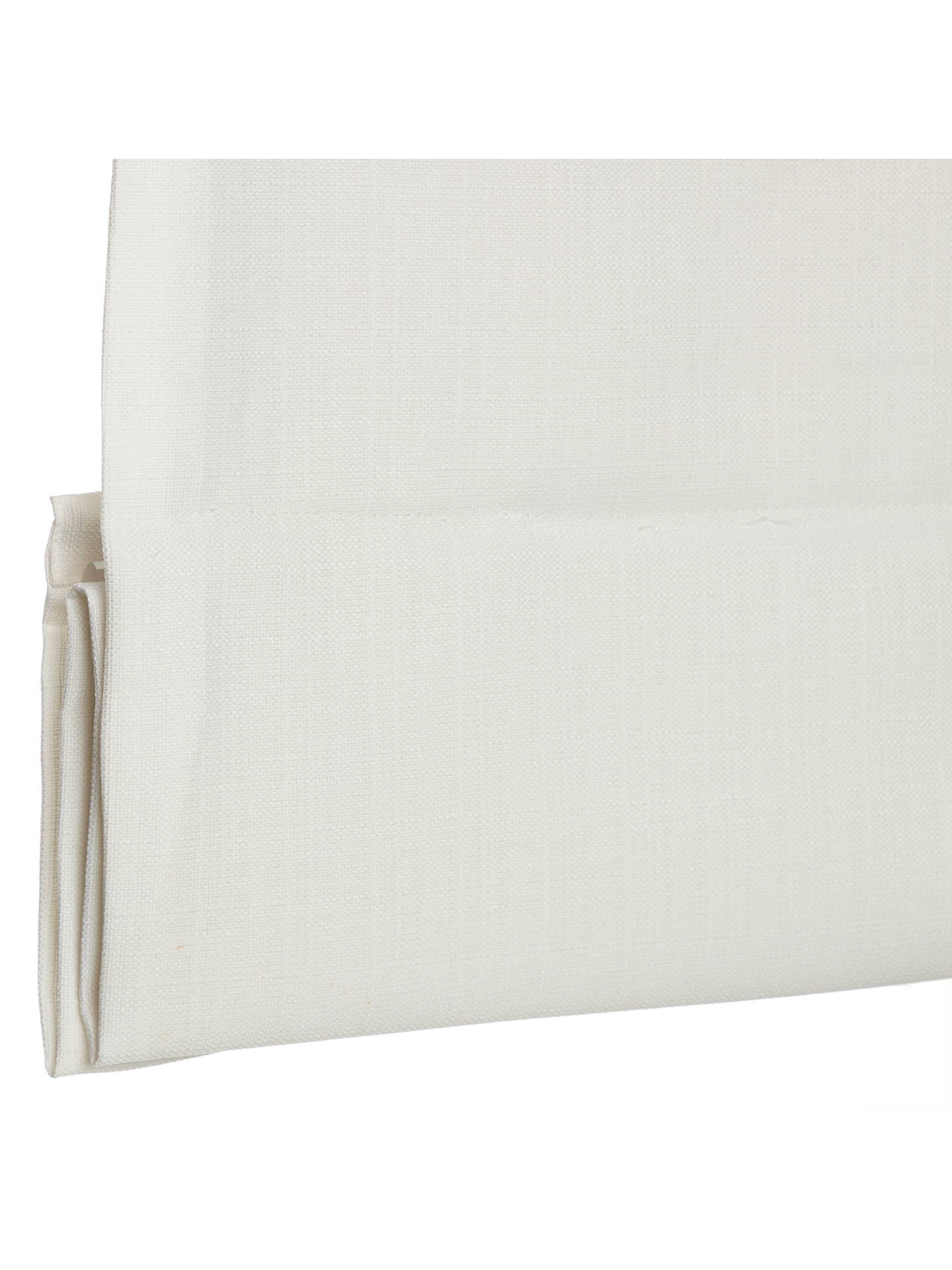 BuyCroft Collection Shawford Blackout Roman Blind, White, W60cm Online at johnlewis.com