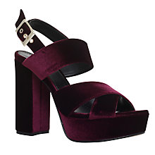 Buy Carvela Gorgeous Occasion Block Heeled Platform Sandals Online at johnlewis.com