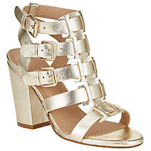 Buy AND/OR Iris Buckle Strap Block Heeled Sandals Online at johnlewis.com