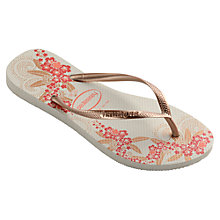 Buy Havaianas Slim Organic Flip Flops Online at johnlewis.com