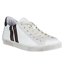 Buy AND/OR Eirene Detail Lace Up Trainers, White Online at johnlewis.com
