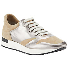 Buy Modern Rarity Mursia Foil Trainers, Natural Online at johnlewis.com
