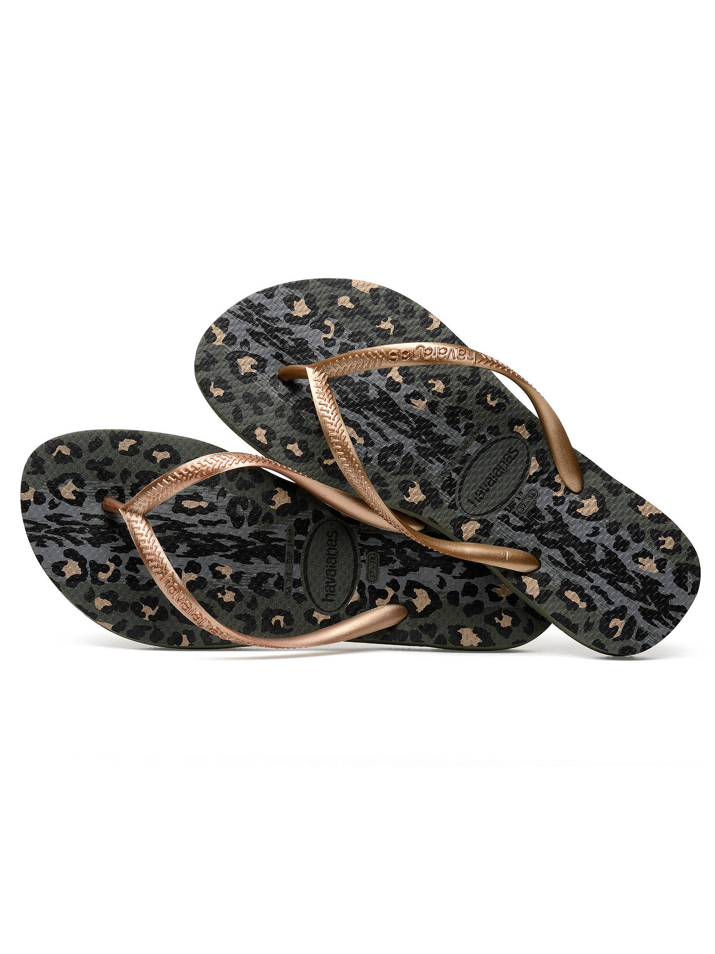 f875627495f ... Buy Havaianas Slim Animal Print Flip Flops