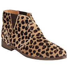 Buy AND/OR Pesha Low Block Heeled Ankle Boots Online at johnlewis.com