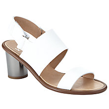 Buy Kin by John Lewis Madlen Double Strap Block Heeled Sandals Online at johnlewis.com