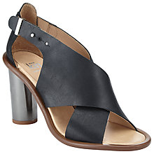 Buy Kin by John Lewis Majsa Block Heeled Sandals, Black Online at johnlewis.com