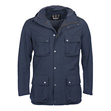 Buy Barbour International Drag Waterproof Jacket, Navy Online at johnlewis.com