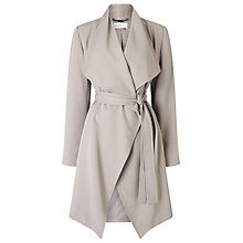 Buy Jacques Vert Waterfall Coat, Mid Brown Online at johnlewis.com