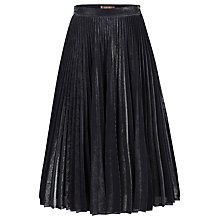Buy Jolie Moi Metallic Pleated A-Line Skirt Online at johnlewis.com