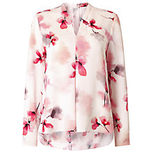 Buy Jacques Vert Printed Blouse, Multi Online at johnlewis.com