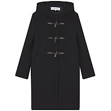 Buy Gerard Darel Poppy Coat, Navy Blue Online at johnlewis.com