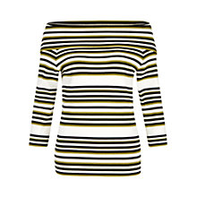 Buy Hobbs Francine Jumper, Ivory/Multi Online at johnlewis.com
