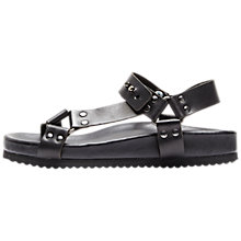 Buy Selected Femme Amanda Sandals, Black Online at johnlewis.com
