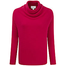Buy Pure Collection Drape Neck Gassato Cashmere Jumper Online at johnlewis.com