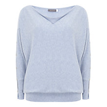 Buy Mint Velvet Split Sleeve Batwing Jumper Online at johnlewis.com