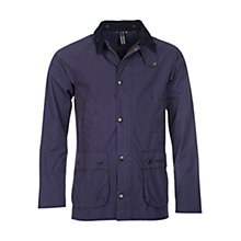 Buy Barbour Heritage Washed Bedale Jacket, Navy Online at johnlewis.com