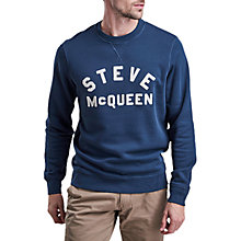 Buy Barbour International Fame 'Steve McQueen' Sweatshirt Online at johnlewis.com