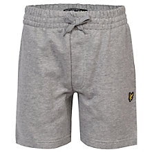 Buy Lyle & Scott Boys' French Terry Marl Shorts Online at johnlewis.com