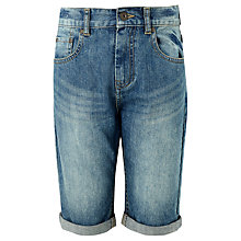 Buy John Lewis Children's Denim Shorts, Blue Online at johnlewis.com