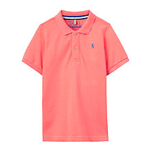 Buy Little Joule Boys' Junior  Woody Polo T-Shirt Online at johnlewis.com