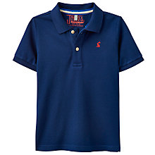 Buy Little Joule Boys' Woody Polo Shirt, Navy Online at johnlewis.com