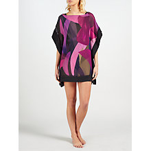 Buy Ted Baker Abstract Jungle Kaftan, Black/Multi Online at johnlewis.com