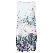 Buy Ted Baker Sayara Entangled Enchantment Kaftan, Dark Blue/Multi Online at johnlewis.com