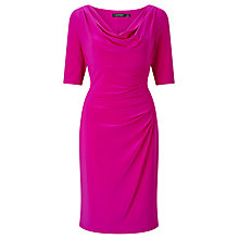Buy Lauren Ralph Lauren Cowl Neck Dress Online at johnlewis.com